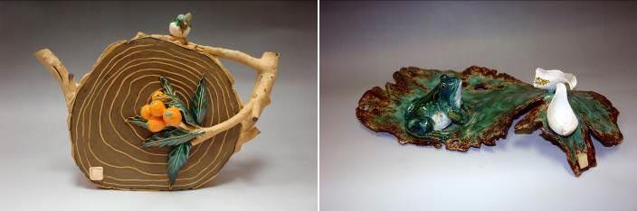 动物造型的陶艺